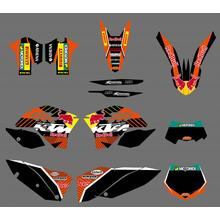 KTM Graphics Stickers For Motorcycle