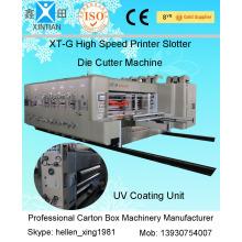 15KW - 30KW Flexo Printing Machine For Corrugated Carton Pa