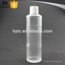Nouvelle bouteille faite sur commande de Cologne de verre d'hommes de la coutume 100ml pour le parfum