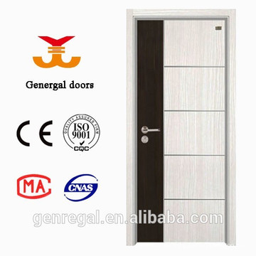 Simple Style design Mix color MDF Melamine wooden door