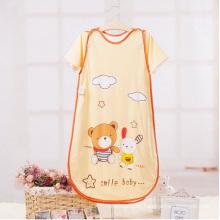 Short Sleeve Printed Baby Summer Sleeping Bag