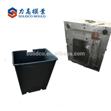 plastic trash can mould with slide cover