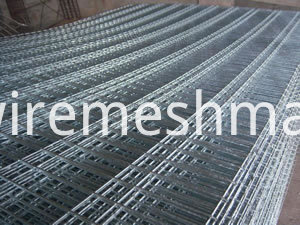 galvanised wire mesh panel