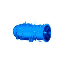Bomba sumergible de flujo cruzado con rendimiento estable