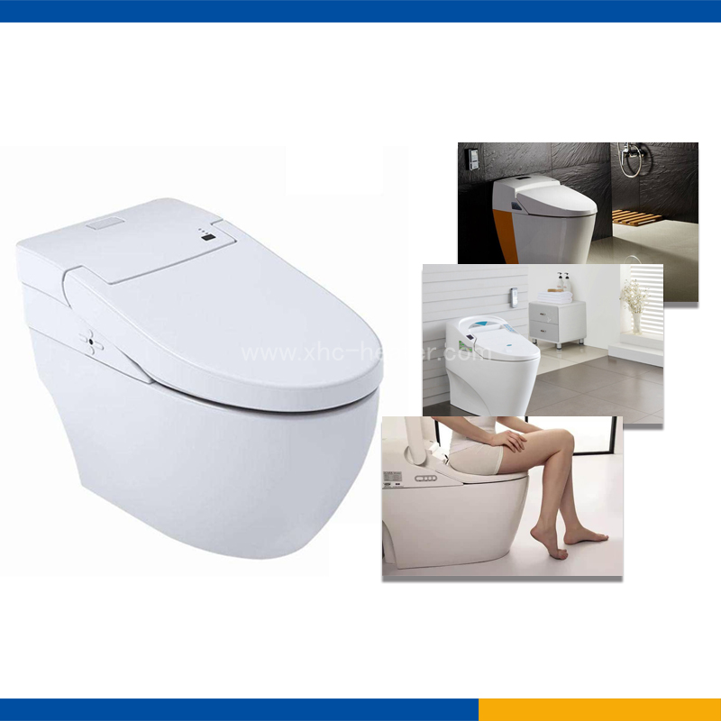 self-regulating heating pad for toilet