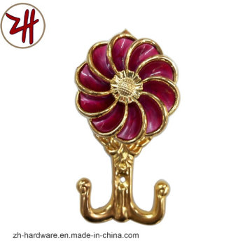 Hardware Clouth Plastic Curtain Robe Hook (ZH-8604)