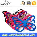 Cintre velours fantaisie papillon pour cravate/écharpe