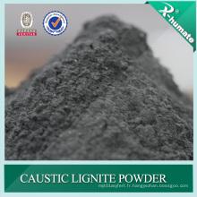 Poudre / flocons superbes de lignite caustique pour l'additif de boue de perçage d'huile