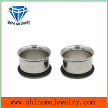 Fashion Stainless Steel Single Flare Ear Plug