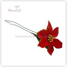 X′mas Tree Ornaments Decorative Flowers para a decoração da árvore de Natal