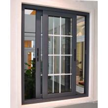 Aluminium Sliding Window with Grill