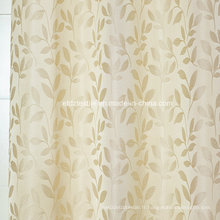 Motif de rideau de fleurs de petite feuille moderne