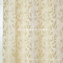 Modernes kleines Blatt Blumenmuster des Vorhangs