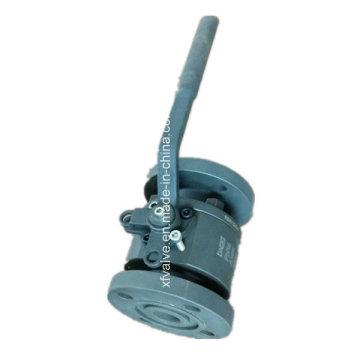 DIN-geschmiedeter Stahl Flanschanschluss mit Kugelanschluss mit reduzierter Bohrung