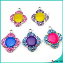Красочные эмаль ювелирные изделия Кулон (ПДВ)