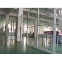 Metal Barrier / Protective Wave Welded Wire Mesh Netting Fence For District And Airport