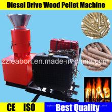 Kleine Diesel angetriebene Kahl Pelletpresse Maschine
