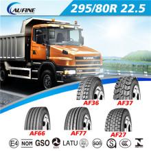 Neumáticos pesados fabricantes del neumático Radial del carro (295/80R22.5)