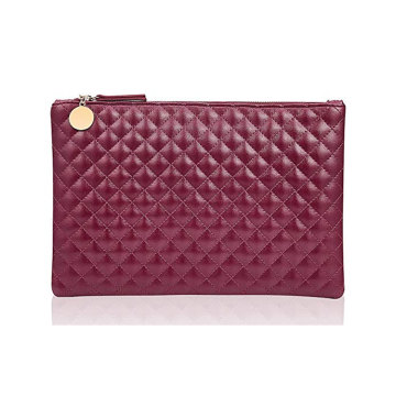 Lady Plain Clear Envelope Clutch Bag