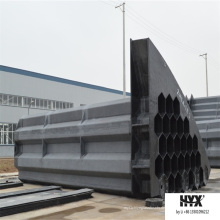 Staubempfindliches Anodenrohr aus Kohlefaser