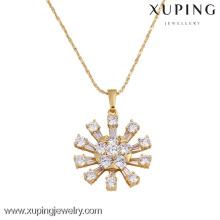 31008 Xuping grandes pingentes para fazer jóias, saudita banhado a ouro pingentes de jóias