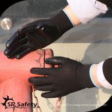 Защитные перчатки SRSafety 13G с нитриловым покрытием / защитная перчатка с CE / рабочая нитриловая перчатка /