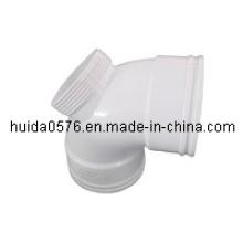 Kunststoff-Rohrfitting Form (Winkel 90 Grad mit Tür)