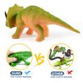 Новый дизайн дети прекрасный мягкий пластик трицератопса динозавров игрушки животных с 2017 года