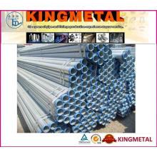 As tubulações do SOLDADO de ASTM A53 BS1387 / galvanizaram as tubulações