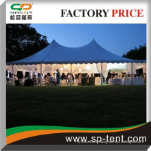 12mx24m aluminum steel and pvc party pole marquee instant meeting tent