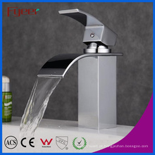 Fyeer Bathroom Curved Spout Cachoeira Bacia Torneira Água Mixer Tap