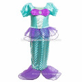 New design children cosplay dress mermaid children dress baby girl princess