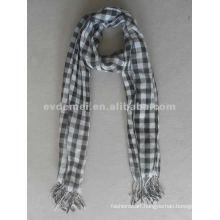 Custom cheap plaid pashmina shawl scarf