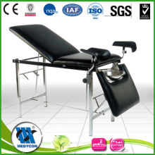 BDC105 Stainless steel frame medical gynecological examination couch
