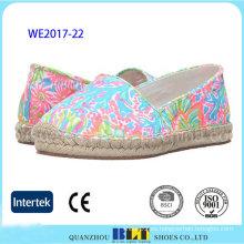 Nuevo producto de estilo colorido Slip-on Shoes