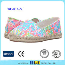 Nouveau produit coloré Slip-on Chaussures