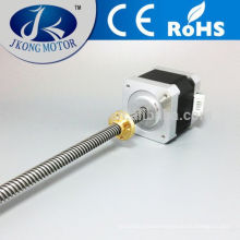 Hybrid 1.8 degree stepper motor nema 17 lead screw