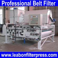 Presse de filtre à bande de traitement de l'eau à haute consistance