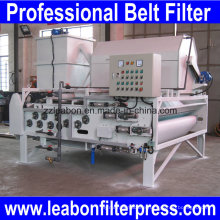 High Consistency Water Treatment Belt Filter Press