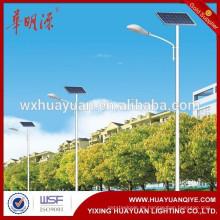 Solarenergie Macht Straßenlaterne Post