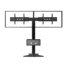 "Public TV Floor Stand Floorbase Dual Screen 30-60"" Mediabox (AVA 203D)"