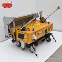 Machine de plâtre de pulvérisation de ciment de mur automatique de construction