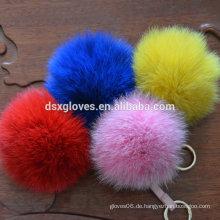 Kaninchen Pelz Ball