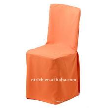 tampa da cadeira do poliéster, cor laranja, tampa da cadeira banquete, 200GSM melhor qualidade de luz CT390