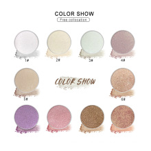 2021 Beautiful 10 Color Vegan Glitter Waterproof  Customized Logo Private Label Highlighter Eye Shadow
