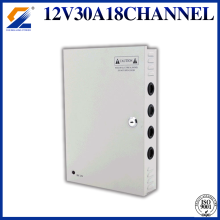 12V 30A 360W 18CH Power Supply for CCTV Camera