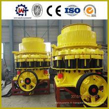 Broyeur à cône à ressort à grande capacité à vendre pour la ligne de production minière
