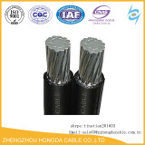 0.6/1KV NFC Standard XLPE ABC Cable 2x16mm2 1x240mm2