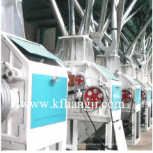 Pequeña capacidad de trigo / Mazie máquina de harina, molino de harina