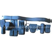 Conjunto de cinto de segurança da polícia com bolsa multifuncional